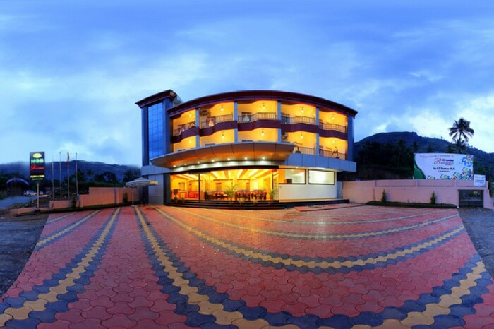 Glorious view of MGS Residency in Munnar