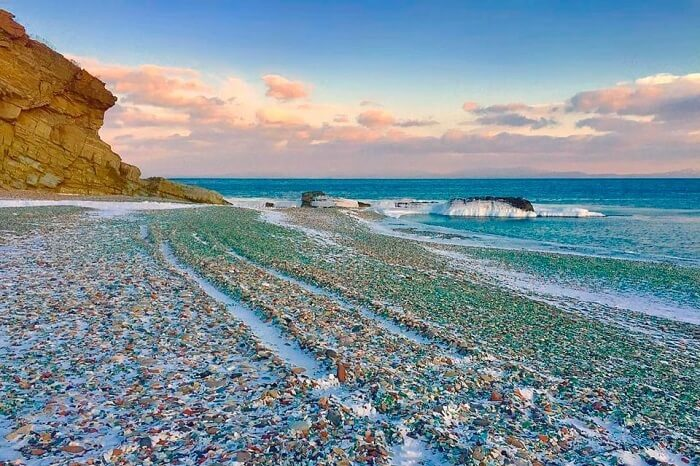 pebble beach in Russia