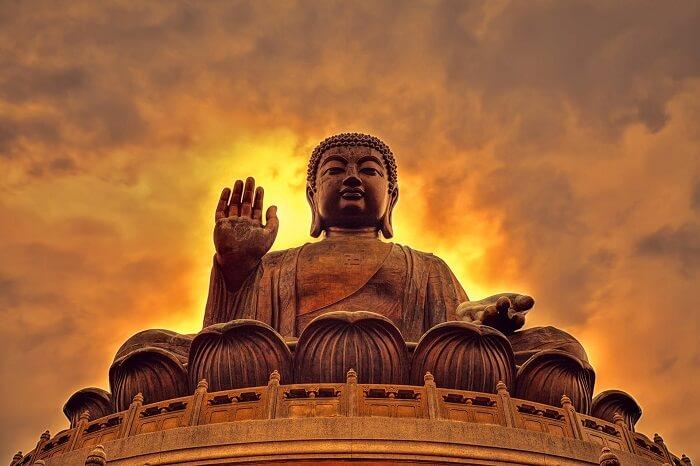 The big buddha Hong Kong