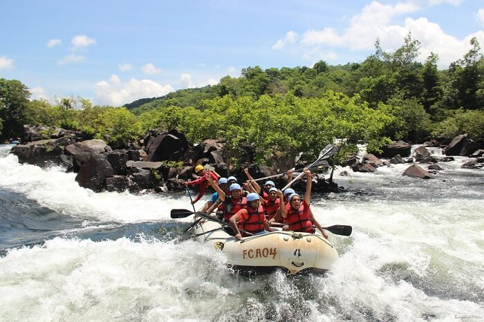 water rafting in Dandeli