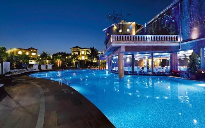 Facade of Della Resort & Villas