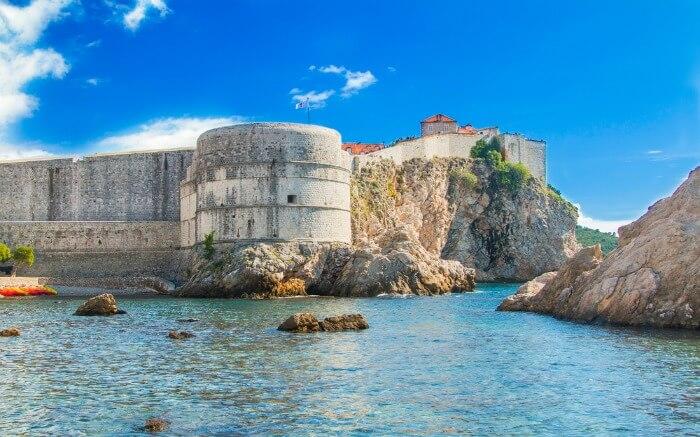 Bokar Fort in Dubrovnik
