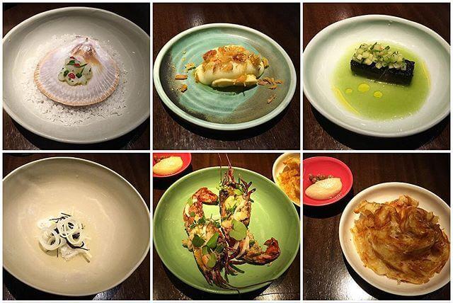Fine dining at Momofuku Seiobo in Sydney