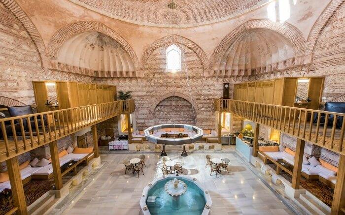 A luxurious Turkish Bath in Istanbul