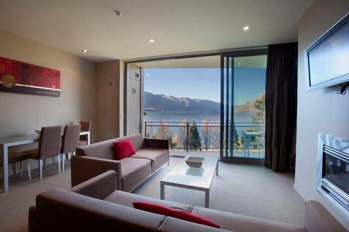 Room in Highview Apartments in Queenstown