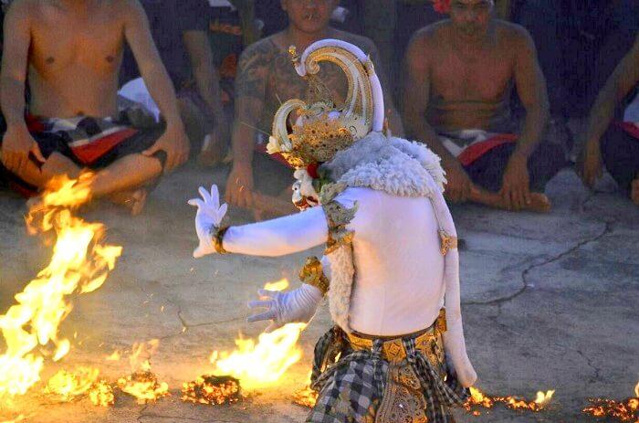 Kecak performance in Bali