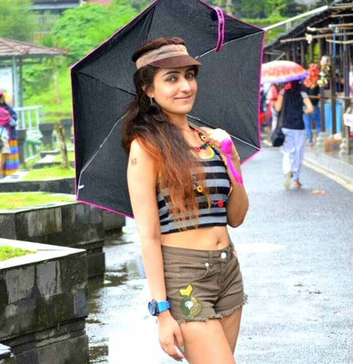 Sanchits wife in Ubud