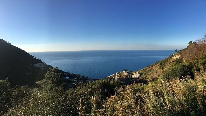 Beautiful coastline of Cinque Terre