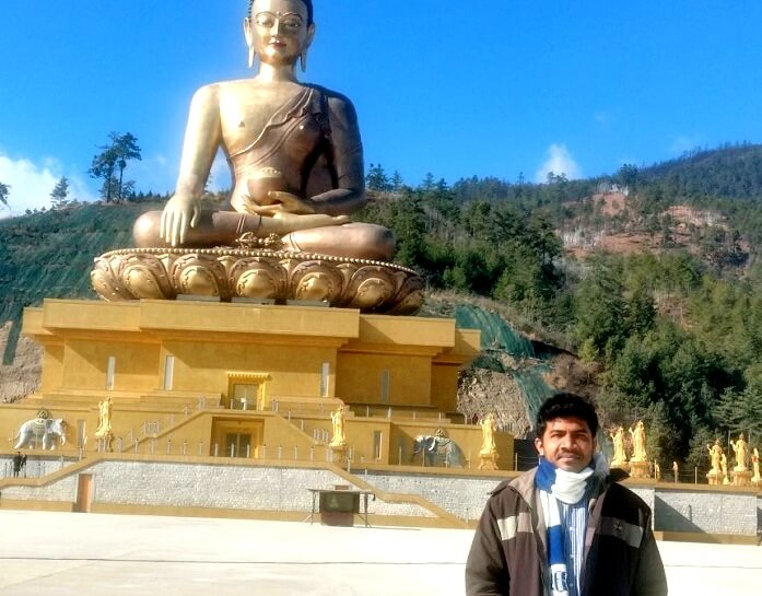 Moving around Thimphu