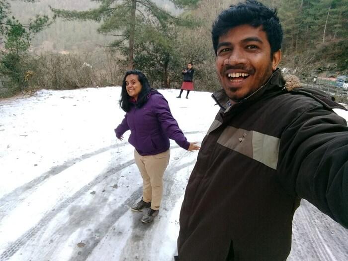 Enjoyment in Bhutan