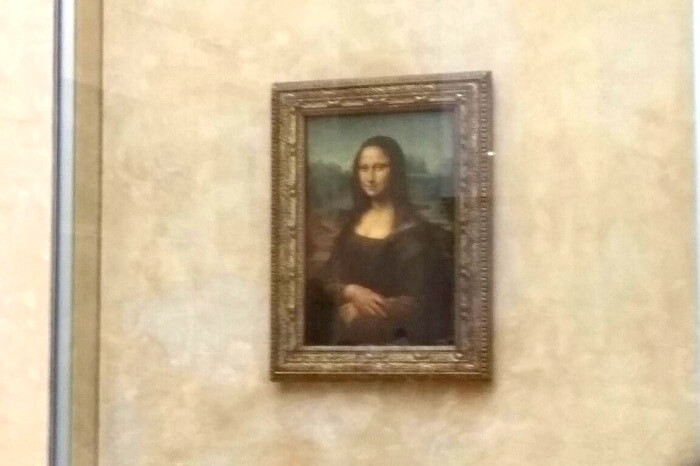 Mona Lisa at Louvre