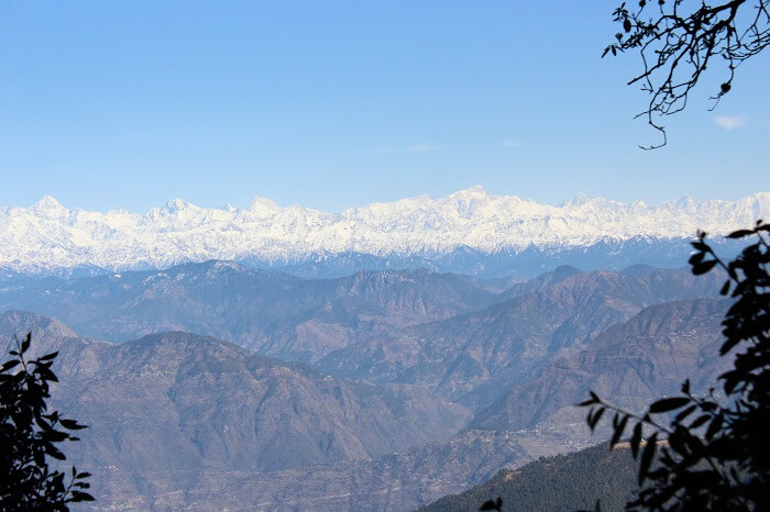 snow capped peaks of uttaranchal