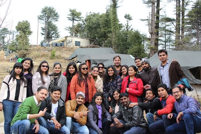 memorable moments of a group trip
