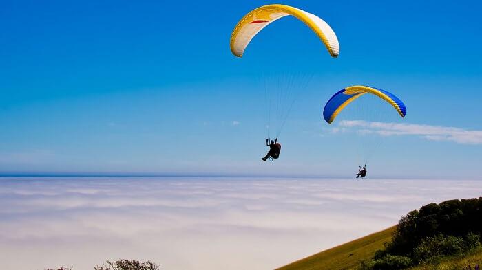 paragliding in Kamshet