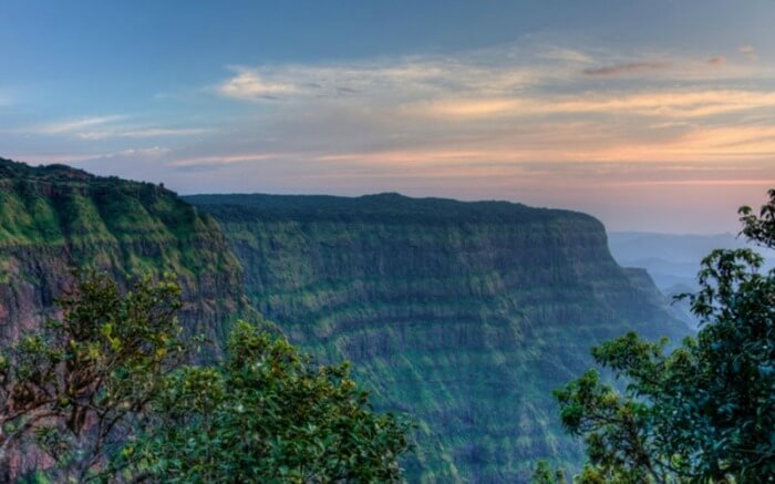 Sunset in Mahabaleshwar