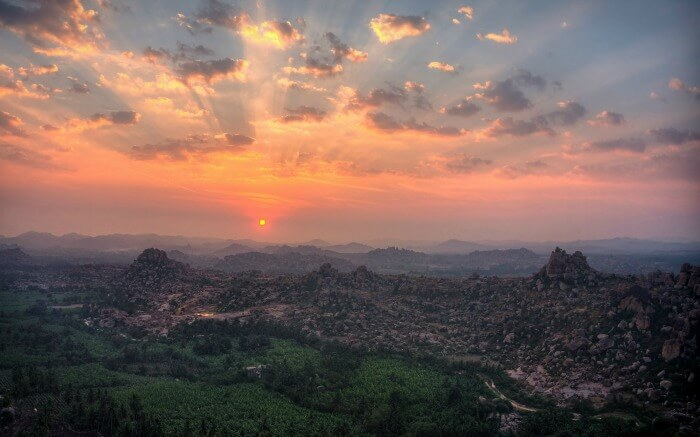 Matanga Hill in Hampi
