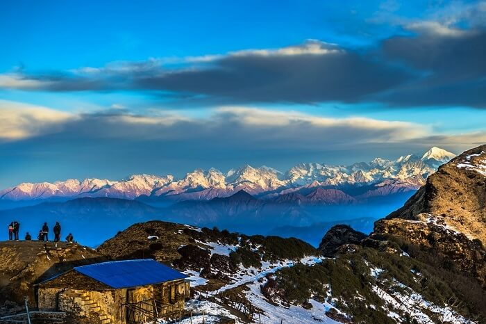 Gaze at the mighty Himalayas in Nepal