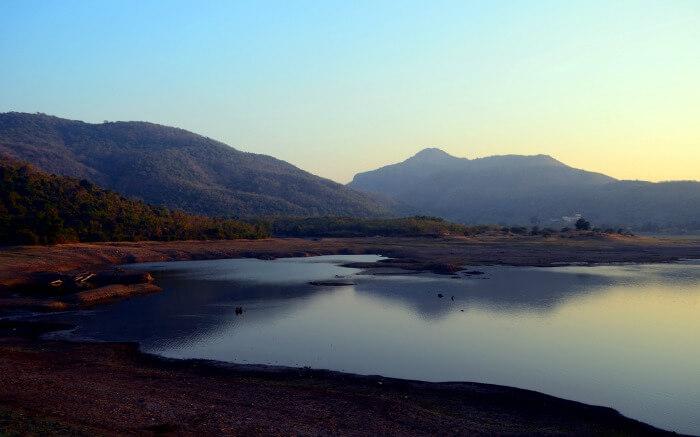 A lake in Palghar