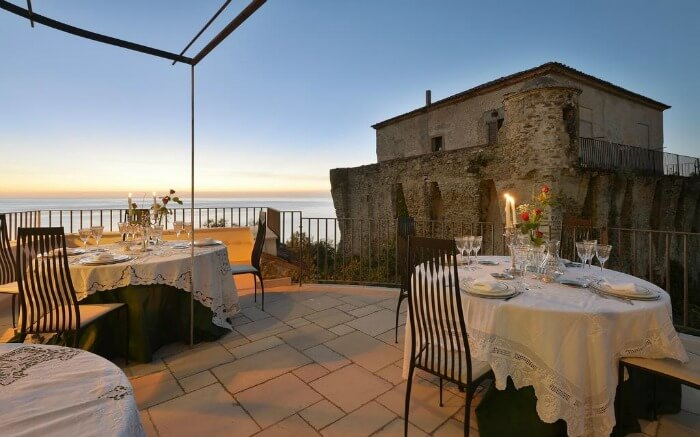 Dining area in San Francesco Resort