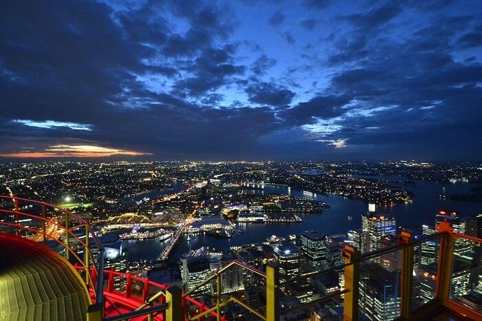 Skywalk Sydney Tower