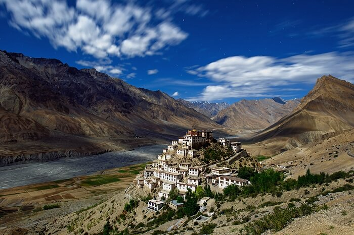 Rugged mountains of Spiti