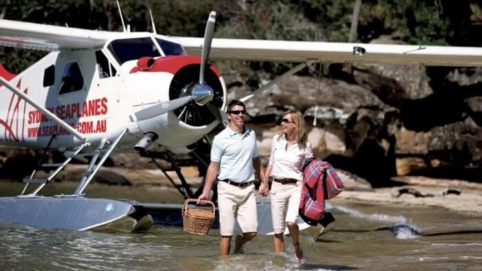 Flying high with Sydney Seaplanes