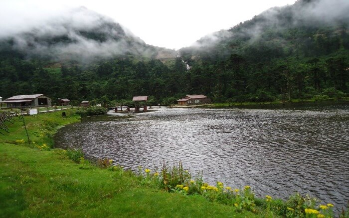 A lake in Tawang