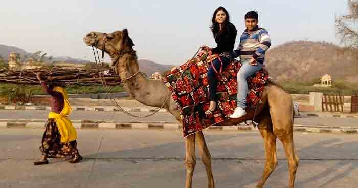 Anuj on a romantic trip to Rajasthan