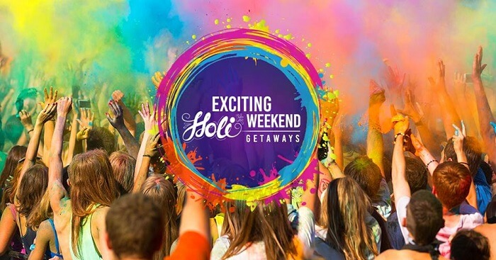 holi weekend getaways from delhi