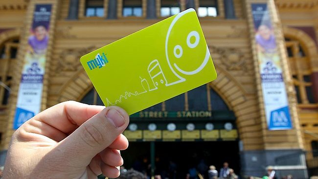 Myki card Melbourne