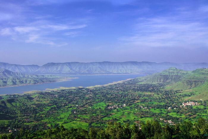 a beautiful view of Panchgani