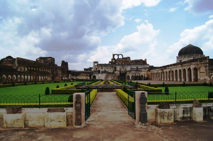Main entrance of Bidar Fort