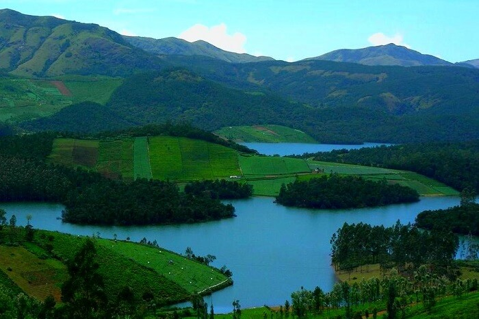 A view of the lake and the greenery at Yercaud in Tamil Nadu