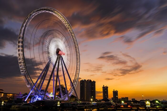 Asiatique Ferris Wheel in Bangkok