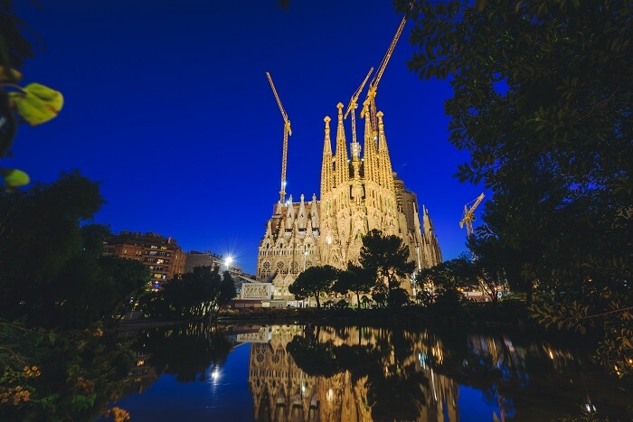 Sagrada Familia Church, Barcelona, Spain