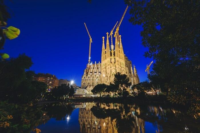 Sagrada Familia Church Barcelona Spain