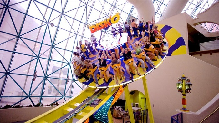Fun at Adventuredome Vegas