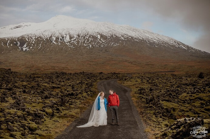 Snaefellsnes Peninsula Wedding, Iceland