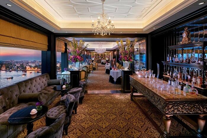 Le Normandie Fine Dining Restaurant Bangkok