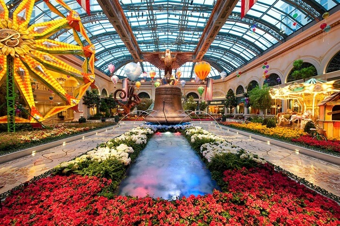 The Bellagio Conservatory & Botanical Gardens Las Vegas