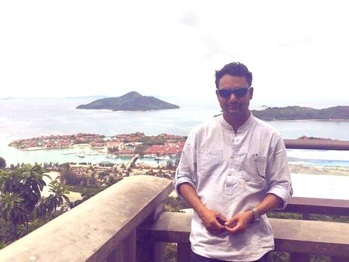 Solo traveler in Seychelles