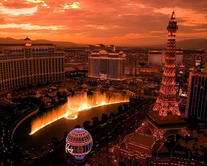 The Eiffel Tower Paris, Las Vegas
