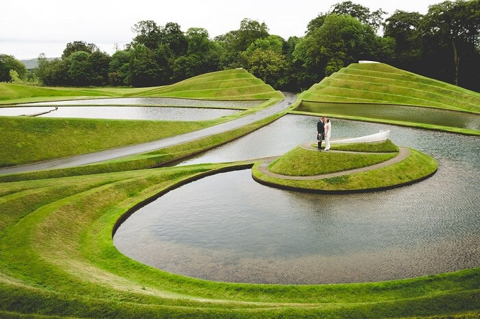 Wedding Photography in Jupiter Artland Scotland