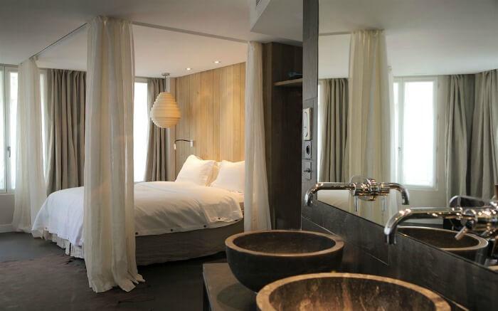 A room in Hidden Hotel