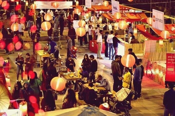 Asian food festival delhi