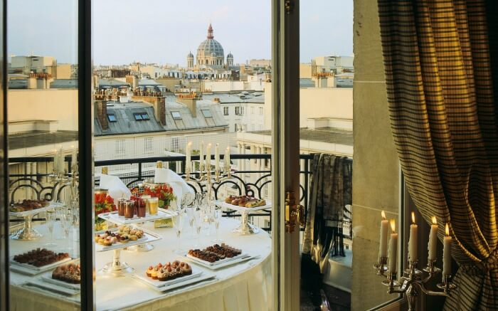 most romantic hotels in Paris