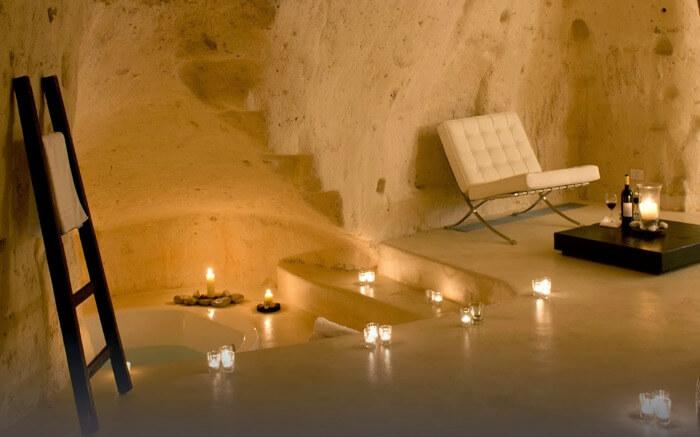 Albergo Sextantio Le Grotte Della Civita in Italy
