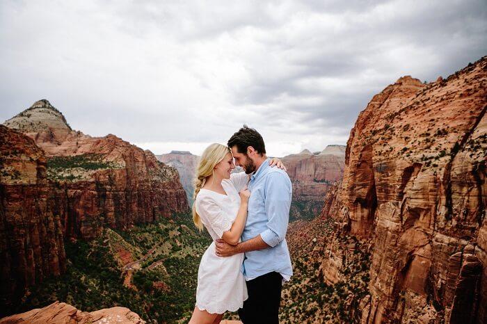 Romantic Couple in Las Vegas