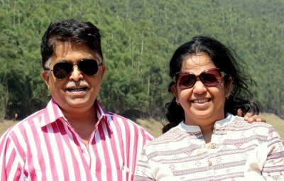 Couple in Munnar