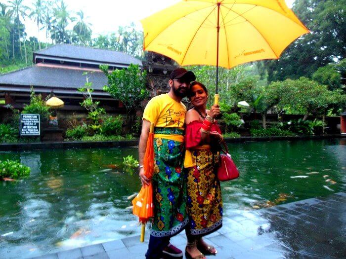 Tourists near Kintamani